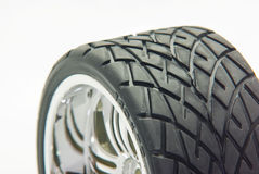 Isolated wheel Royalty Free Stock Images