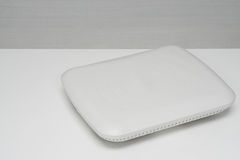 Isolated white access point Stock Photos