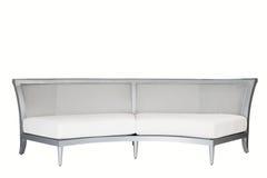 Isolated white background sofa designer furniture Royalty Free Stock Photography