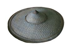 Hat palm leaves : Weave hat Royalty Free Stock Photo