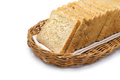 Isolated whole wheat bread Stock Photos
