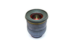 Isolated wide angle lens Royalty Free Stock Photography