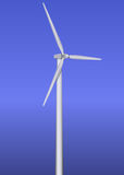 Isolated wind turbine Royalty Free Stock Photos