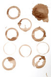 Isolated Wine Rings Stock Image