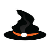 Isolated witch hat Stock Photo