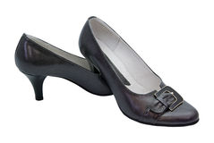 Isolated woman shoes Royalty Free Stock Photos