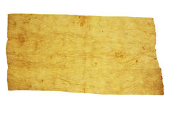 Isolated Wood textured paper. On white Stock Photography