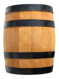 Isolated wooden barrel Royalty Free Stock Image