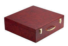 Isolated Wooden boxes Stock Photo