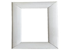 Isolated Wooden Frame Stock Image