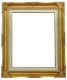 Isolated wooden Photo Frame Royalty Free Stock Images
