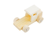 Isolated wooden toy Royalty Free Stock Photos