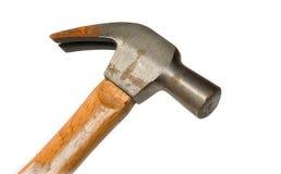 Isolated worn hammer Stock Photo