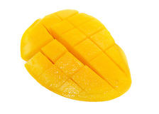 Isolated Yellow Mango Royalty Free Stock Images