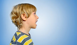 Isolated young boy Stock Photos