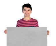Isolated young business man Stock Photography