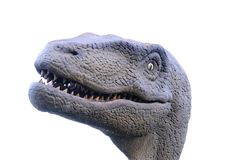 Isolatedj urassic dinosaur Royalty Free Stock Photo