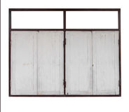 Isolates pane wooden. Isolates of background pane wooden sash, white and brown stock images