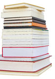 Isolates of several books. Royalty Free Stock Photography