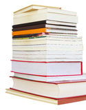 Isolates of several books. Royalty Free Stock Image