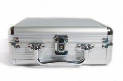 Isolatframdel - panel av silverportföljen Fotografering för Bildbyråer