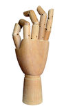 Jointed Wooden Hand Stock Images