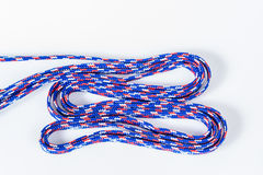 Isolation of colorful texture rope Royalty Free Stock Photography