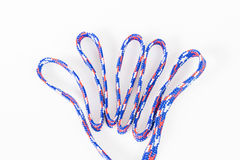 Isolation of colorful texture rope Stock Images