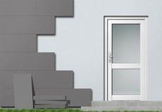 Isolation de façade de polystyrène illustration libre de droits