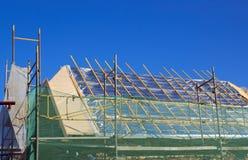 Isolation de toit Photographie stock libre de droits