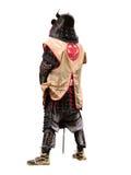 isolation japanese warrior стоковое изображение
