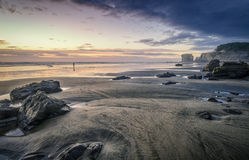 Isolation at MAori Bay Royalty Free Stock Photo