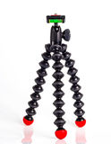 Isolation of mini tripod Royalty Free Stock Images