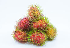 Isolation rambutan Royalty Free Stock Photo