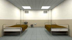 Isolation room Royalty Free Stock Image