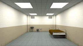 Isolation room Stock Photo