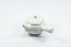Isolation teapot and glass Stock Image