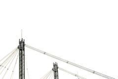 Isolatkonstruktion Arkivfoto