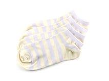 Isolato colorato dei calzini su fondo bianco Immagine Stock Libera da Diritti