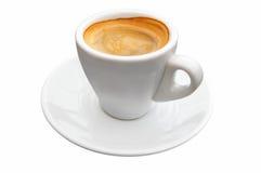 Isolato del caffè del caffè espresso Fotografia Stock Libera da Diritti