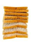 Isolato del pane Immagine Stock