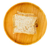 Isolato del pane Immagini Stock Libere da Diritti