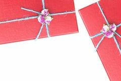 Isolato del regalo su fondo bianco Fotografia Stock Libera da Diritti