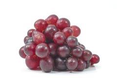 Isolato dell'uva su fondo bianco Fotografia Stock