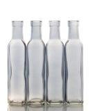 Isolato della bottiglia di vetro Fotografie Stock Libere da Diritti