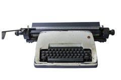 Isolato della macchina da scrivere Immagini Stock Libere da Diritti