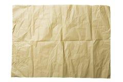 Isolato di carta ruvido su bianco Immagine Stock Libera da Diritti