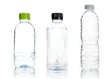Isolato di plastica della bottiglia di acqua Immagine Stock