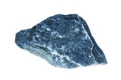 Isolato grigio della roccia Fotografia Stock