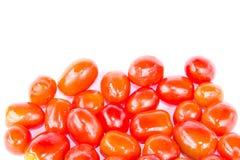 Isolato rosso dei pomodori Fotografia Stock Libera da Diritti